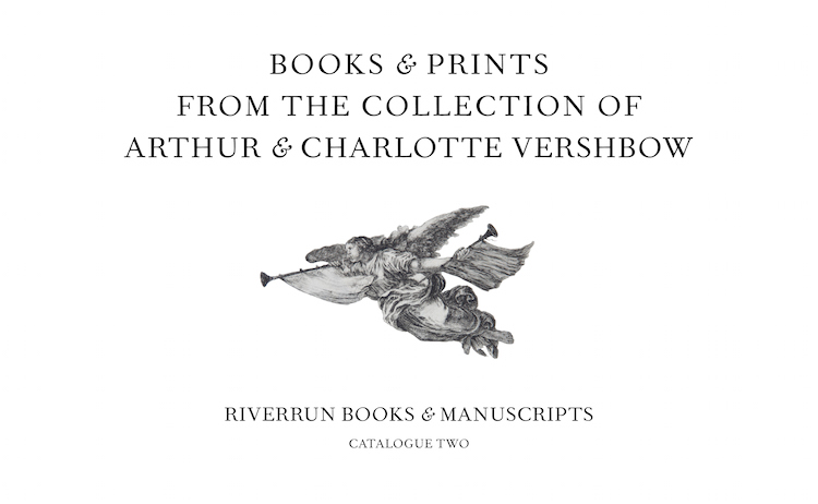 books & prints from the collection of arthur & charlotte vershbow