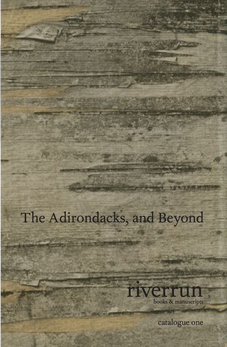 Catalogue One: The Adirondacks, and Beyond