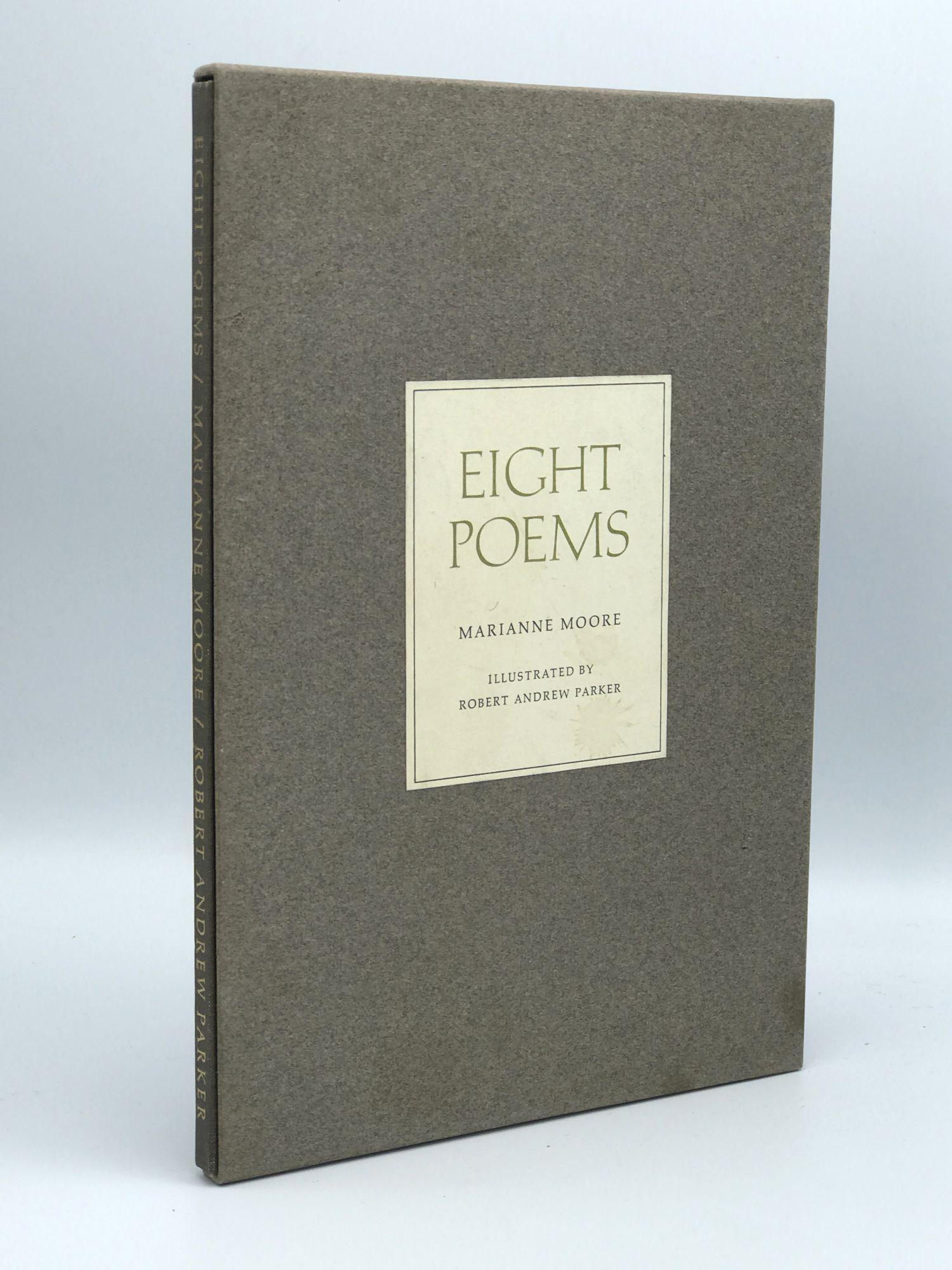 Eight Poems by Marianne / MOORE, Robert Andrew Parker on Riverrun Books &  Manuscripts