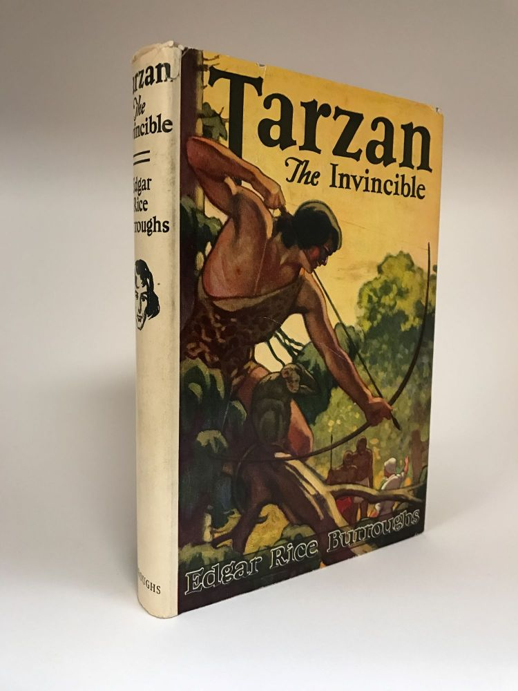 Tarzan the Invincible. Edgar Rice BURROUGHS.