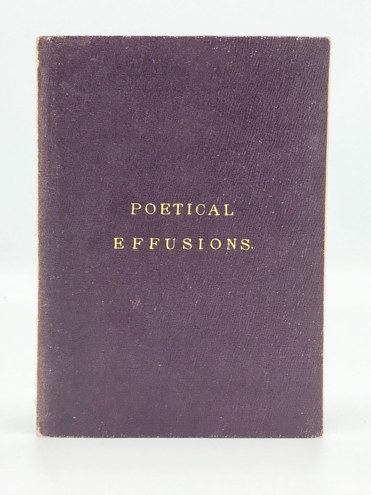 Poetical Effusions, from Celebrated Authors. George CRUIKSHANK.