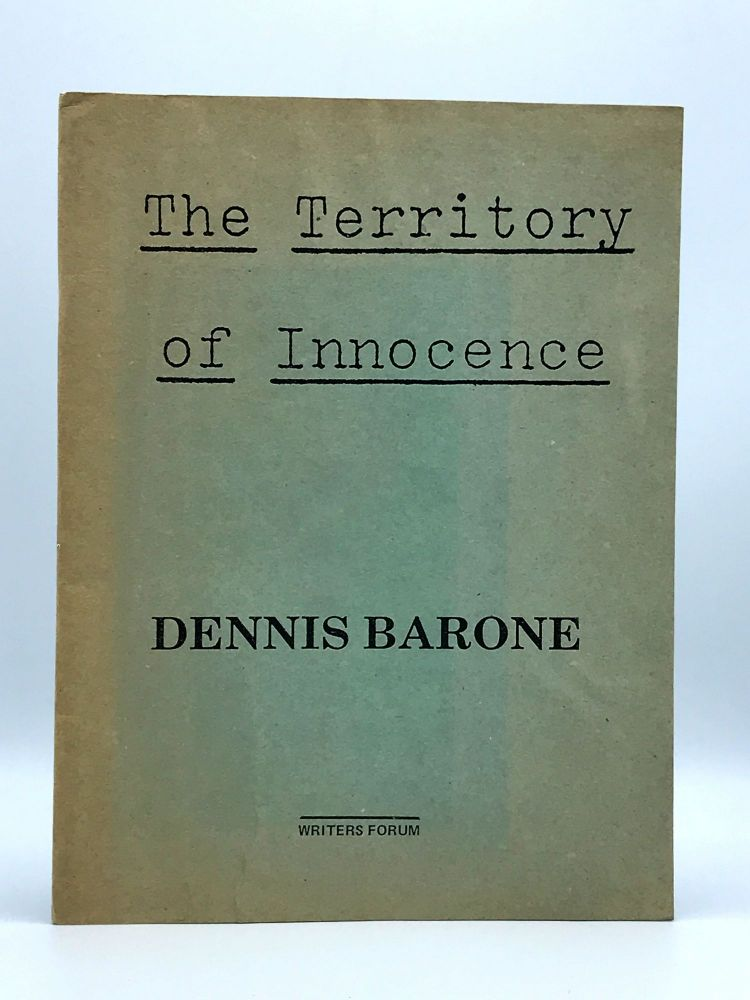 The Territory of Innocence. Dennis BARONE.
