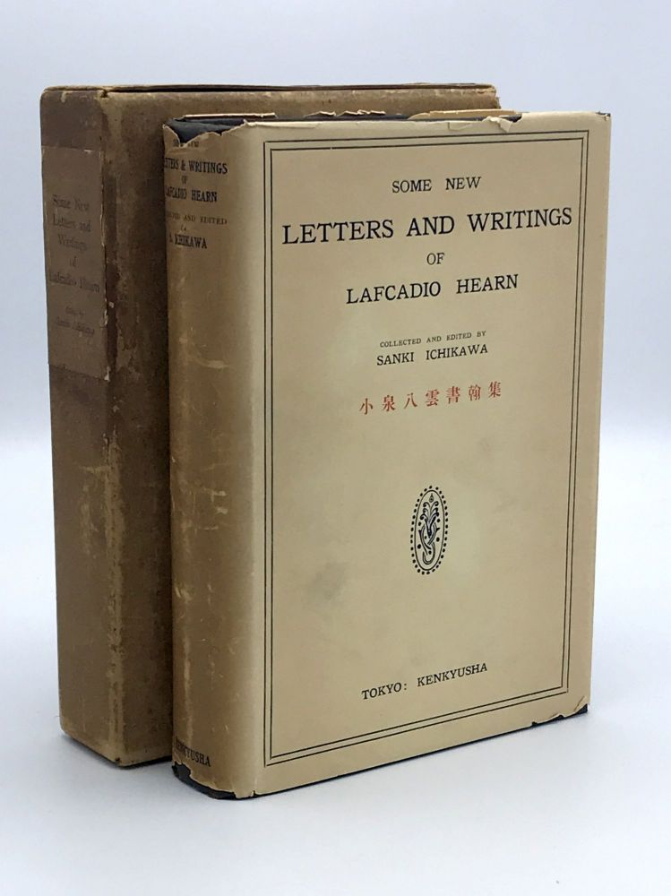 Some New Letters and Writings. Lafcadio HEARN.
