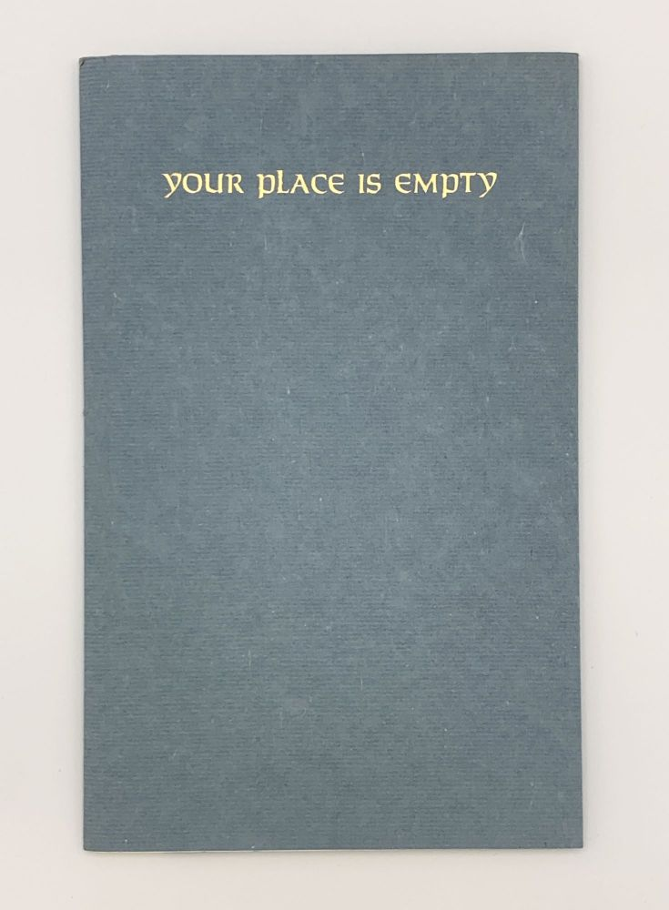 Your Place is Empty. Anne TYLER, b. 1941.
