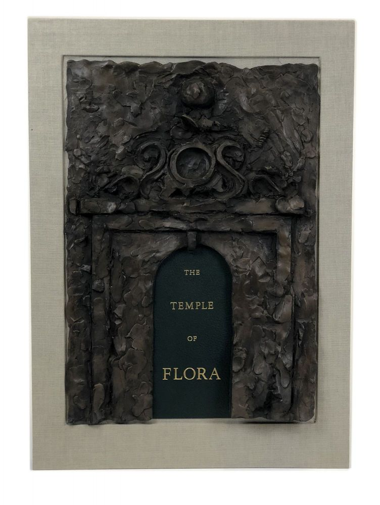 The Temple of Flora. Twenty-eight drypoint-engravings...with Botanical notes compiled and poetry selected by Glenn Todd & Nancy Dine. Jim DINE, b.1935.
