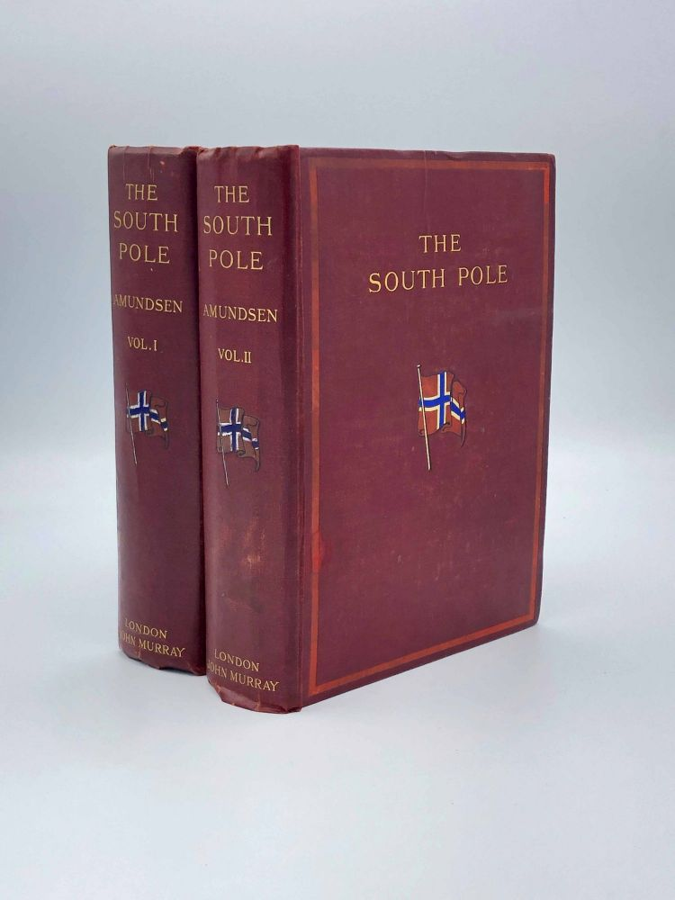 The South Pole. Roald AMUNDSEN.