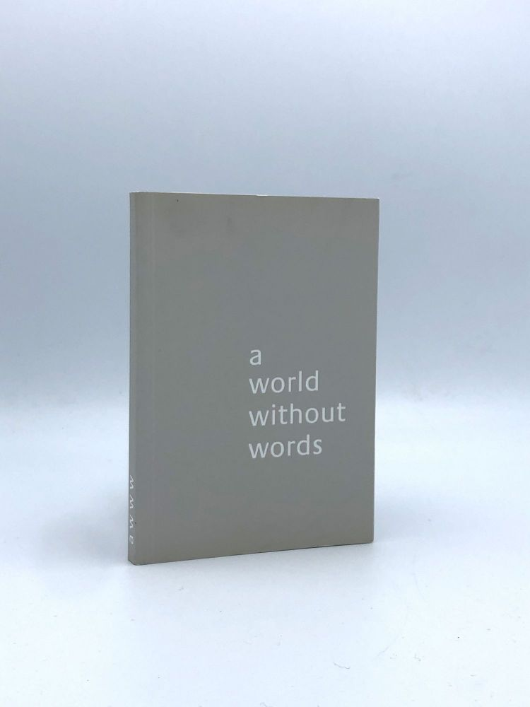 A World Without Words. Jasper MORRISON.