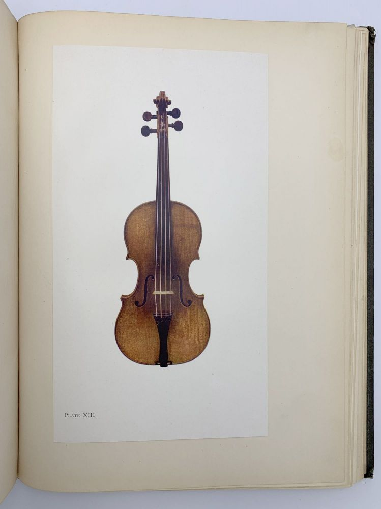 The Hawley Collection of Violins. With a history of their makers and a brief review of the evolution and decline of the art of violin-making in Italy 1500-1800. LYON, HEALY.