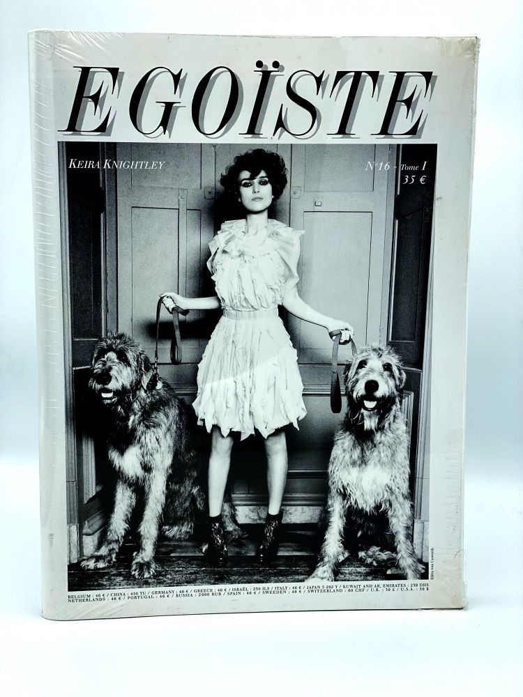 Egoïste: No. 16, Tom. I and II. Keira Knightly and James Thierrée. EGOÏSTE.