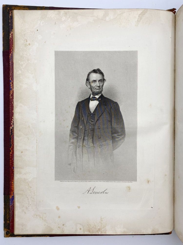 The Assassination of Abraham Lincoln, Late President of the United States of America, and the Attempted Assassination of William H. Seward, Assistant Secretary, on the Evening of the 14th of April, 1865: Expressions of Condolence and Sympathy Inspired. Abraham LINCOLN.