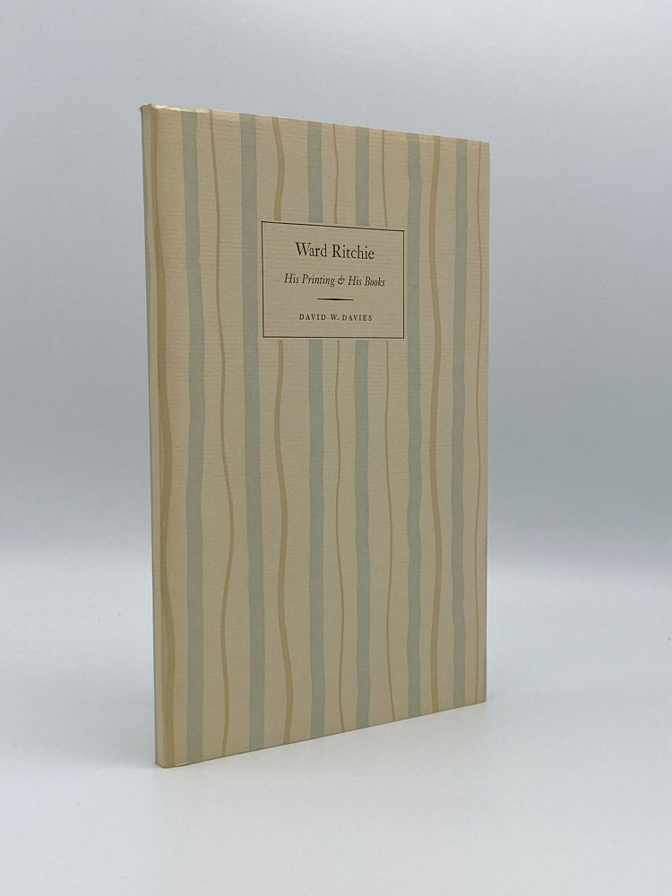 A Concise Account of Ward Ritchie: His Printing and His Books. Ward RITCHIE.