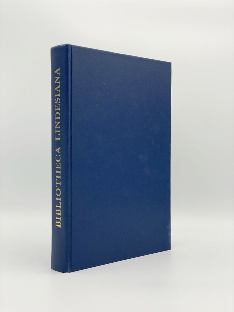 Bibliotheca Lindesiana: The Lives and Collections of Alexander William, 25th Earl of Crawford and 8th Earl of Balcarres, and James Ludovic, 26th Earl of Crawford and 9th Earl of Balcarres. Nicolas BARKER.