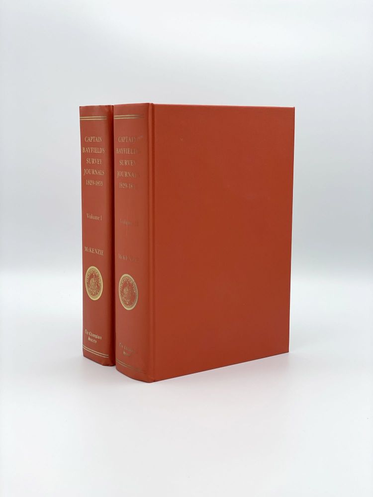 The St. Lawrence Survey Journals of Captain Henry Wolsey Bayfield: 1829-1853. Henry Wolsey BAYFIELD, Ruth MCKENZIE.