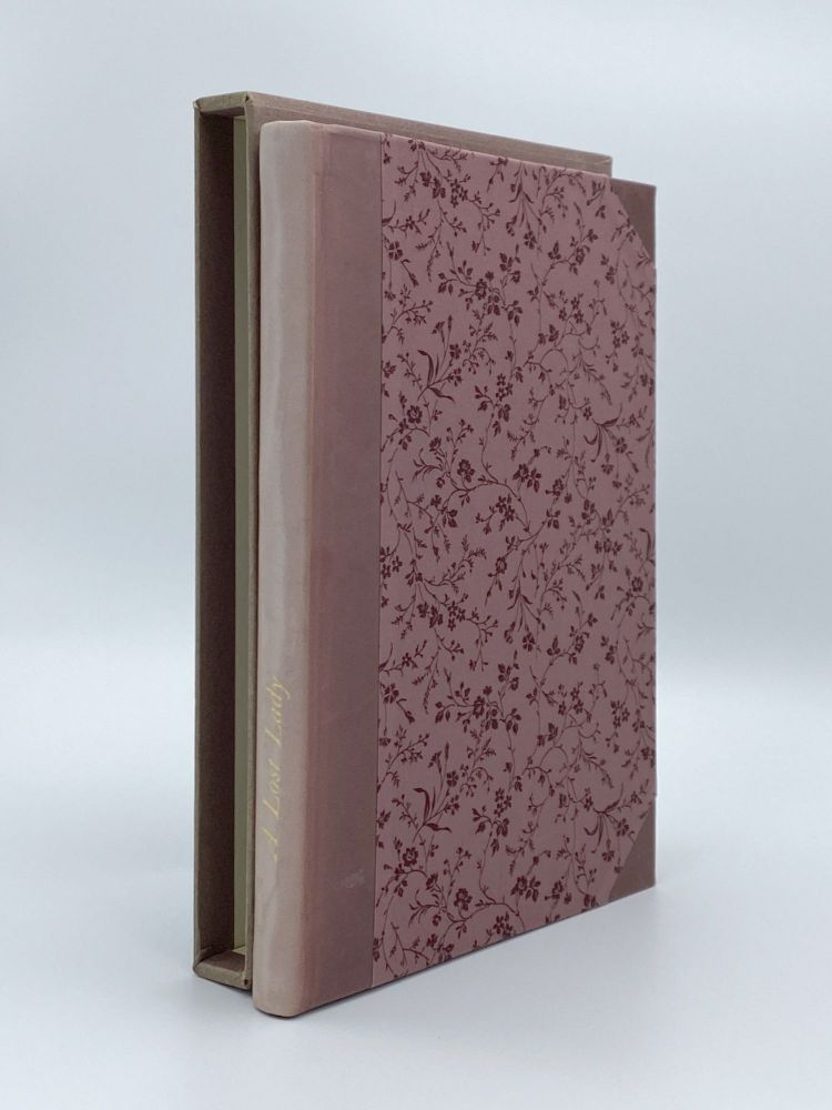 A Lost Lady. LIMITED EDITIONS CLUB, Willa CATHER.