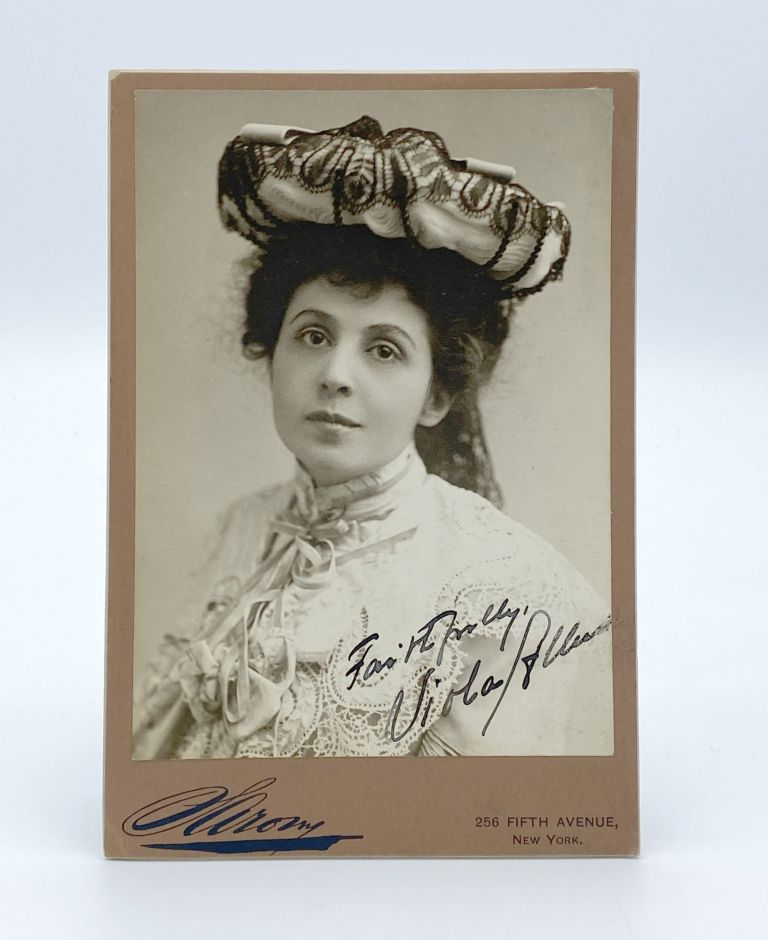 A small collection of the American stage acress. Viola ALLEN.