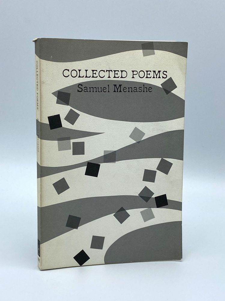 Collected Poems. Samuel MENASHE.