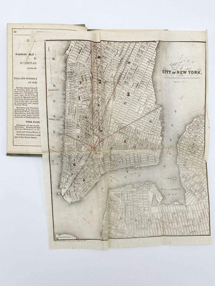 The Great Metropolis: Or, New-York Almanac for 1850. NEW YORK.