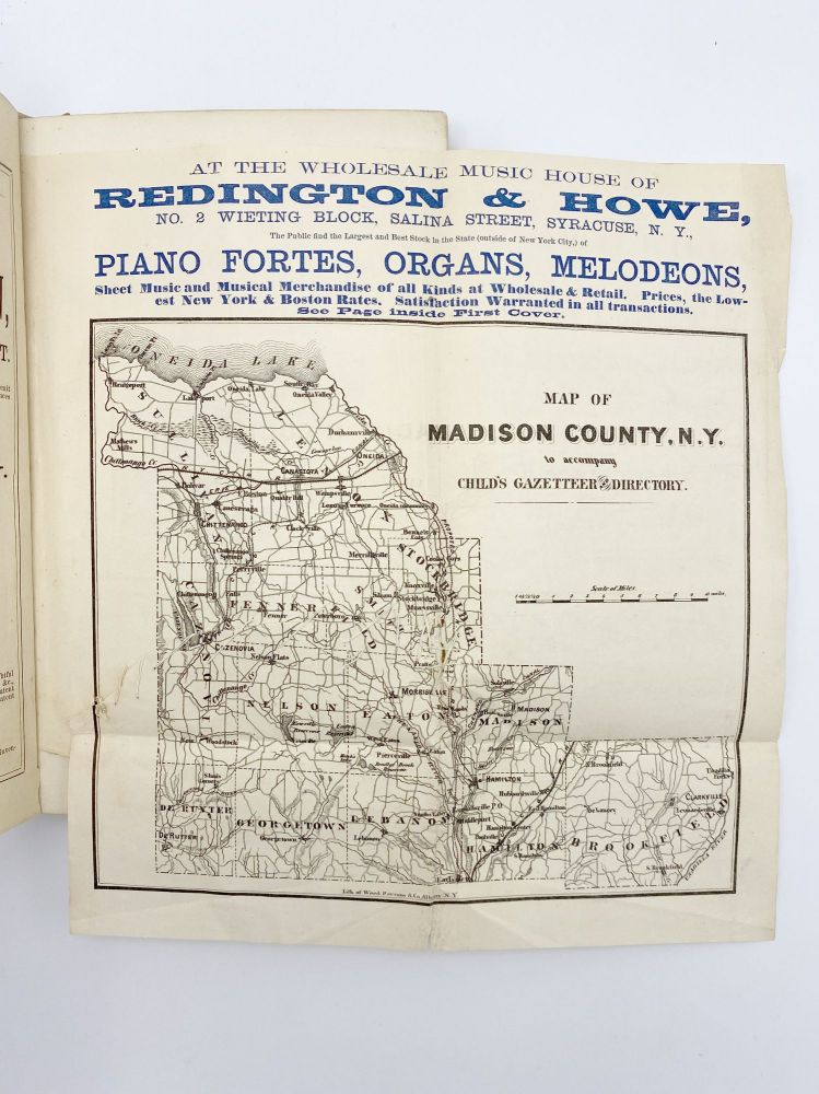 Gazetteer & Business Directory of Madison County, NY for 1868-9. Hamilton CHILD.