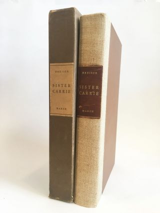 Sister Carrie. LIMITED EDITIONS CLUB, Theodore DREISER