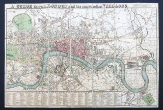 A Guide through London and the surrounding Villages