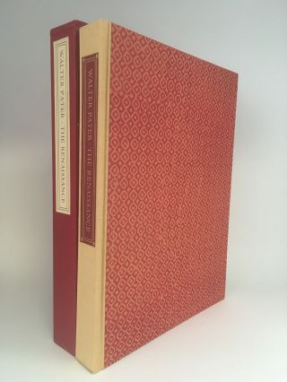 The Renaissance. Studies in Art and Poetry. LIMITED EDITIONS CLUB, Walter PATER