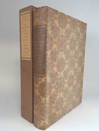 On Conciliation with the Colonies and Other Papers on the American Revolution. LIMITED EDITIONS...