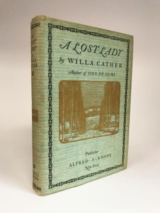 A Lost Lady. Willa CATHER