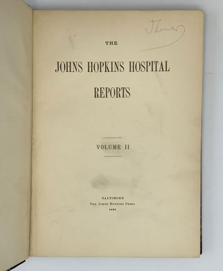 """Amoebic dysentery"".; In: The Johns Hopkins Hospital Reports. Vol. II. William Thomas COUNCILMAN,..."