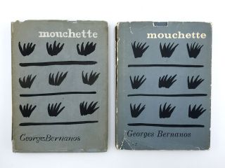 Mouchette: original mock-up for the book. William WONDRISKA, designer