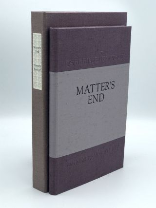 Matter's End. Gregory BENFORD