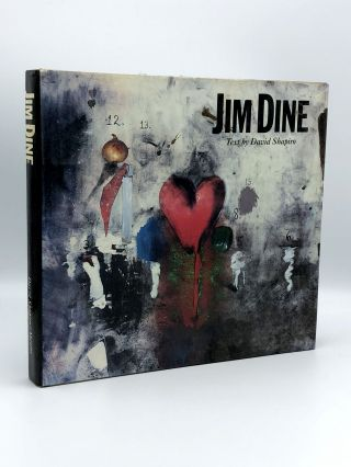 Jim Dine Painting What One Is. Jim DINE, David SHAPIRO, b. 1935, b. 1947