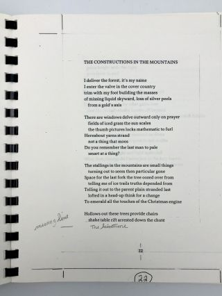 Solution Passage. Poems 1978-1981