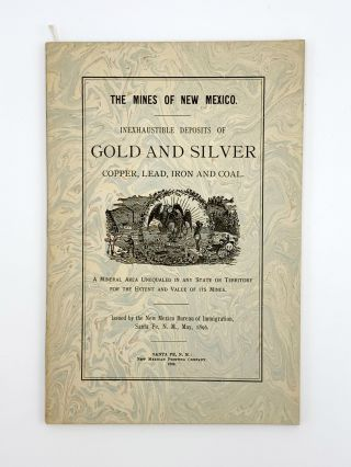Mines in New Mexico. Inexhaustible Deposits of Gold and Silver, Copper, Lead, Iron and Coal. A...