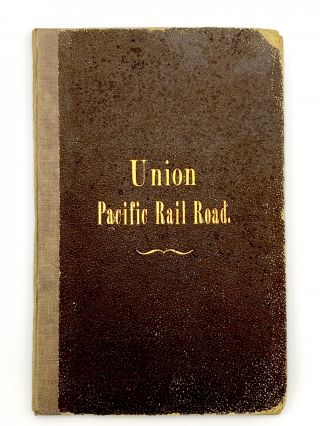 Progress of the Union Pacific Railroad West from Omaha, Nebraska, Across the Continent, Making,...