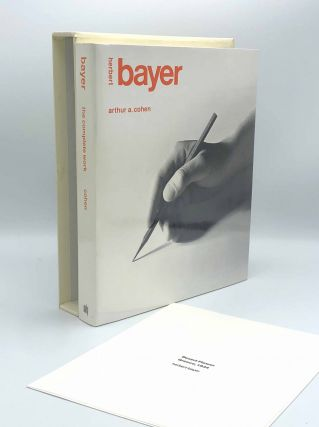 Herbert Bayer: The Complete Work. Herbert BAYER, Arthur A. COHEN