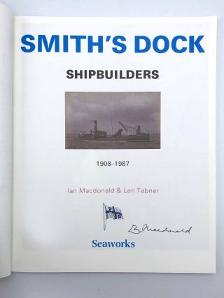 Smith's Dock Shipbuilders