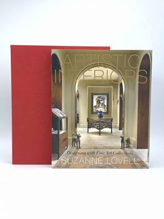Artistic Interiors. Designing with Fine Art Collections. Suzanne LOVELL, Marc KRISTAL