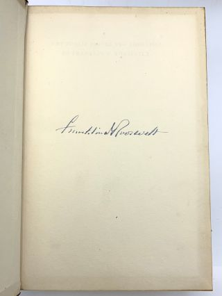 The Public Papers and Addresses of Franklin D. Roosevelt