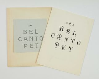 The Bel Canto Pet. Joseph CORNELL