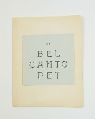 The Bel Canto Pet