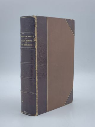 The Journals of the Lives and Travels of Samuel Bownas and John Richardson. Samuel BOWNAS, John...