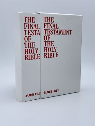The Final Testament of the Holy Bible. James FREY