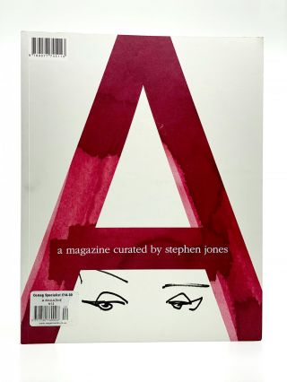 A Magazine #12: Curated by Stephen Jones. STEPHEN JONES