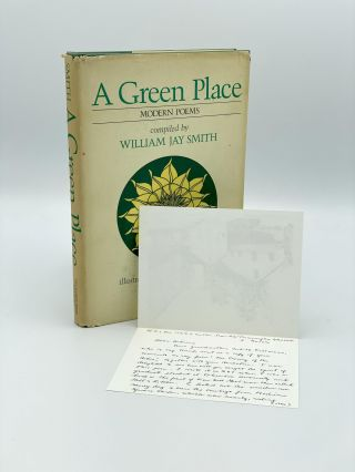 A Green Place. Modern Poems. William Jay SMITH, compiler