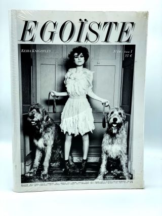 Egoïste: No. 16, Tom. I and II. Keira Knightly and James Thierrée. EGOÏSTE