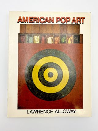 American Pop Art. Lawrence ALLOWAY