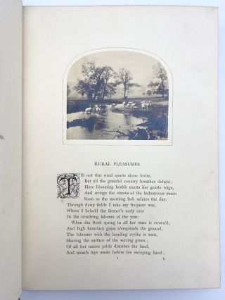 Sunshine in the Country. A Book of Rural Poetry. Embellished with Photographs from Nature