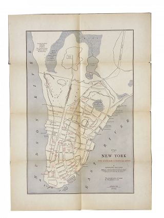 Early New York [cover title]. [Five Maps of New York]. Townsend MacCOUN