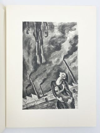 To the Memory of the Martyr Fighters of the Warsaw Ghetto: Thirty-Five Drawings by Maurice Mendjisky - An Unpublished Poem by Paul Eluard - A text by Vercors