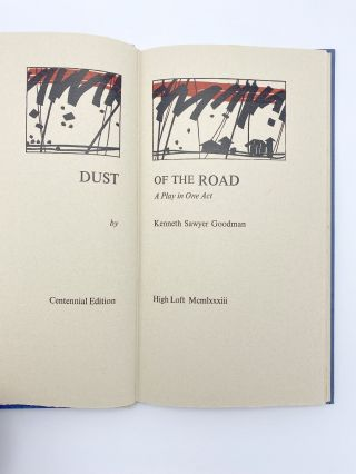 Dust of the Road. A Play in One Act